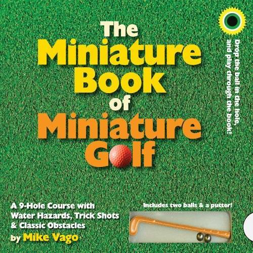 Mike Vago - Miniature Book of Miniature Golf - Preis vom 28.02.2021 06:03:40 h