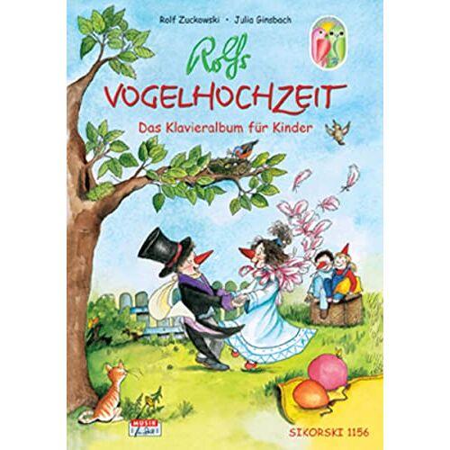- Rolfs Vogelhochzeit: Das Klavieralbum für Kinder, leicht gesetzt - Preis vom 14.01.2021 05:56:14 h