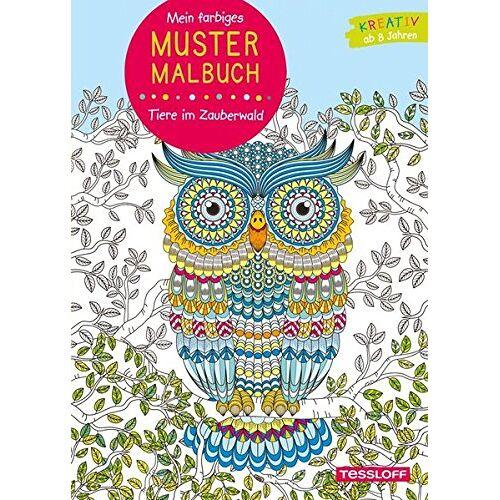 - Mein farbiges Mustermalbuch. Tiere im Zauberwald (Malbücher und -blöcke) - Preis vom 28.02.2021 06:03:40 h