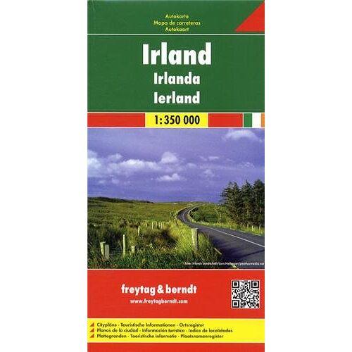 Freytag-Berndt und Artaria KG - Freytag Berndt Autokarten, Irland - Maßstab 1:350.000 (Freytag & Berndt Road Map) - Preis vom 17.04.2021 04:51:59 h