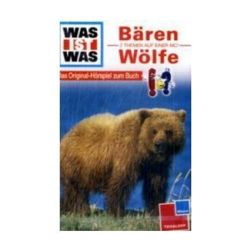 Was Ist Was - WAS IST WAS, Folge 20: Bären / Wölfe [Musikkassette] [Musikkassette] - Preis vom 31.10.2020 05:52:16 h