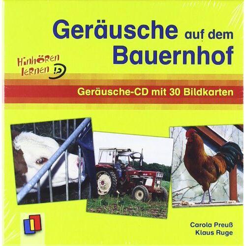 Klaus Ruge - Geräusche auf dem Bauernhof. CD: Geräusche-CD mit Bildkarten - Preis vom 12.05.2021 04:50:50 h