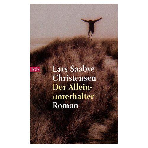 Christensen, Lars Saabye - Der Alleinunterhalter - Preis vom 21.10.2020 04:49:09 h