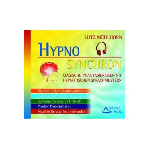 Lutz Mehlhorn - Das neue Hypno-Synchron-Programm, 5 Audio-CDs - Preis vom 24.02.2021 06:00:20 h