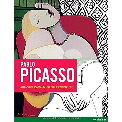 Frédérique Cassegrain - Pablo Picasso: Anti-Stress-Malbuch für Erwachsene - Preis vom 18.04.2021 04:52:10 h