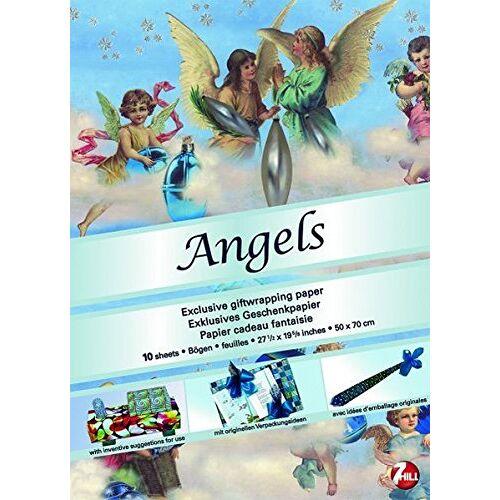 Packo Jansen - Angels: Exklusives Geschenkpapier (Giftwrap Papers) - Preis vom 12.04.2021 04:50:28 h