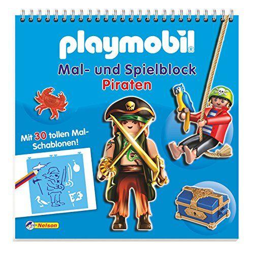 - Playmobil Mal- und Spielblock Piraten: Mit 30 tollen Mal-Schablonen! - Preis vom 20.10.2020 04:55:35 h