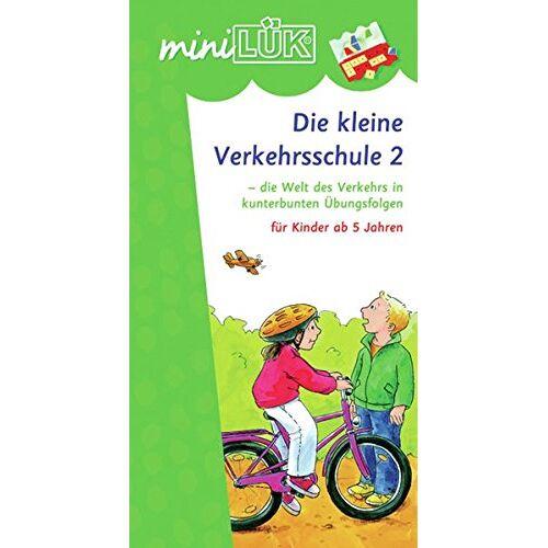 Heinz Vogel - miniLÜK / Schuleingangsphase: miniLÜK: Die kleine Verkehrsschule 2: die Welt des Verkehrs in kunterbunten Übungsfolgen für Kinder ab 5 Jahren - Preis vom 10.05.2021 04:48:42 h