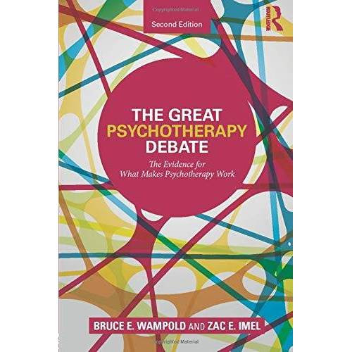 Wampold, Bruce E. - The Great Psychotherapy Debate (Counseling and Psychotherapy) - Preis vom 08.05.2021 04:52:27 h