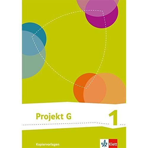 - Projekt G Kopiervorlagen / Kopiervorlagen mit CD-ROM: neue Ausgabe / 5./6. Klasse - Preis vom 08.05.2021 04:52:27 h