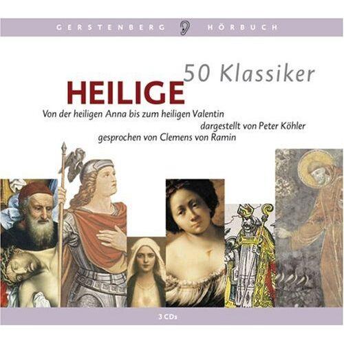 Peter Köhler - 50 Klassiker Heilige. 3 CDs: Von der heiligen Anna bis zum heiligen Valentin - Preis vom 11.05.2021 04:49:30 h