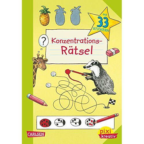 Katja Kiefer - Pixi kreativ 84: Konzentrations-Rätsel: Lernspiele für den Schulanfang - Preis vom 13.05.2021 04:51:36 h