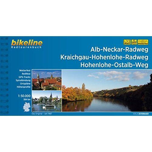 Esterbauer Verlag - Alb-Neckar-Weg Kraichgau-Hohenlohe-Radweg Hohenlohe-Ostalb-Weg (Bikeline Radtourenbücher) - Preis vom 26.01.2020 05:58:29 h