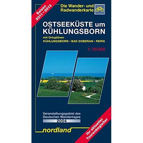 Peter Kast - Ostseeküste um Kühlungsborn 1 : 35 000: Rerik, Kröpelin, Bad Doberan mit Ortsplan Ostseebad Kühlungsborn - Preis vom 18.04.2021 04:52:10 h