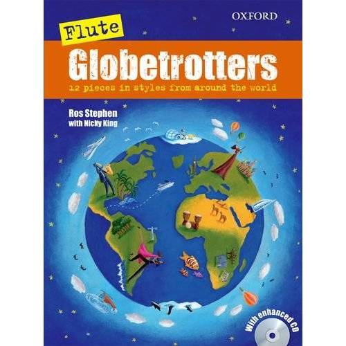 Nicky King - Flute Globetrotters + CD (Globetrotters for wind) - Preis vom 09.04.2021 04:50:04 h