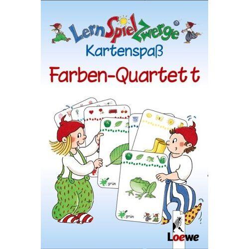 - LernSpielZwerge Kartenspaß: Farben-Quartett (48 Spielkarten) - Preis vom 07.05.2021 04:52:30 h