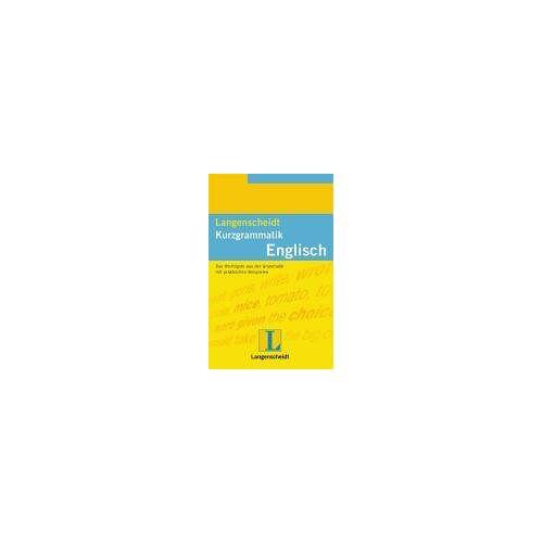 Sonia Brough - Langenscheidt Kurzgrammatiken: Langenscheidts Kurzgrammatik, Englisch - Preis vom 09.05.2021 04:52:39 h