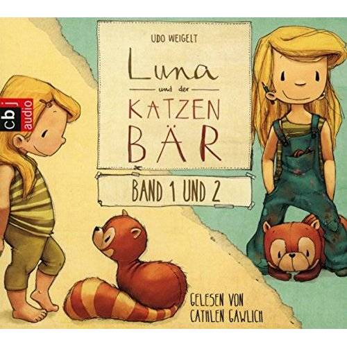 Udo Weigelt - Luna und der Katzenbär Band 1 & 2: Luna und der Katzenbär / Luna und der Katzenbär vertragen sich wieder (Die Katzenbär-Reihe: Die Hörbücher, Band 1) - Preis vom 20.10.2020 04:55:35 h