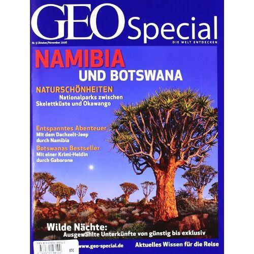 Kirsch, Meike (Chefredakteurin) - Geo Special Namibia und Botswana: 5/2008 - Preis vom 05.09.2020 04:49:05 h