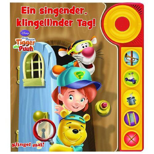 Mark Rader - Klingel mal! Tigger und Puuh - Ein singender, klingelnder Tag: MIt Klingel und fünf tollen Geräuschen - Preis vom 21.10.2020 04:49:09 h