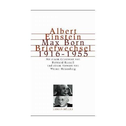 Albert Einstein - Briefwechsel Einstein / Born 1916 - 1955 - Preis vom 17.04.2021 04:51:59 h