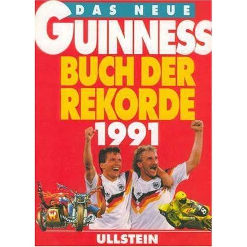Guinness - Das neue Guinness Buch der Rekorde 1991 - Preis vom 18.04.2021 04:52:10 h
