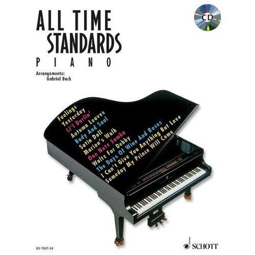 Gabriel Bock - All Time Standards: Klavier. Ausgabe mit CD.: Noten - Preis vom 05.05.2021 04:54:13 h