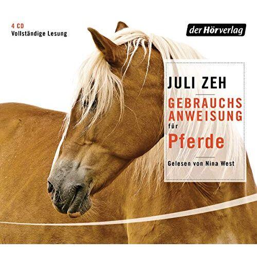 Juli Zeh - Gebrauchsanweisung für Pferde - Preis vom 09.04.2021 04:50:04 h