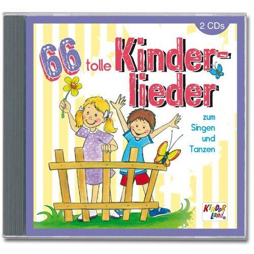Kinderlieder - 66 Tolle Kinderlieder - Preis vom 11.05.2021 04:49:30 h