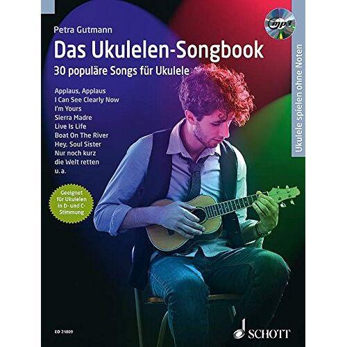 Petra Gutmann - Das Ukulelen-Songbook: 30 populäre Songs für Ukulele. Ukulele. Ausgabe mit CD. - Preis vom 27.11.2020 05:57:48 h
