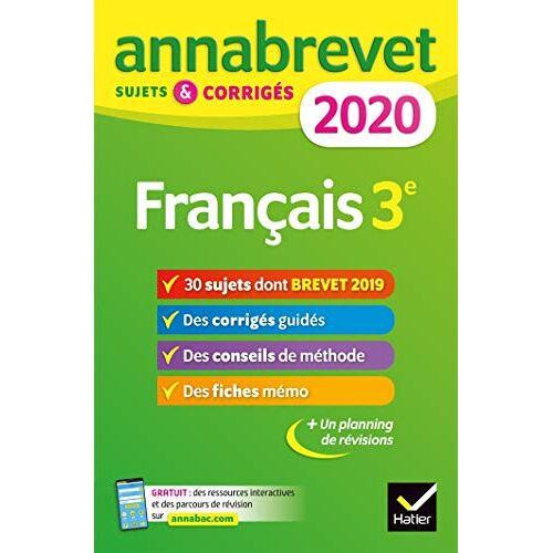 - Français 3e : Sujets et corrigés - Preis vom 15.05.2021 04:43:31 h