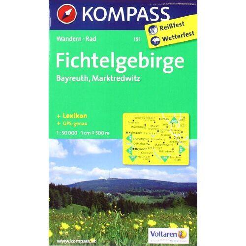 - Fichtelgebirge - Bayreuth - Marktredwitz 1 : 50 000: Wanderkarte mit Kurzführer und Radrouten. GPS-genau - Preis vom 28.02.2021 06:03:40 h