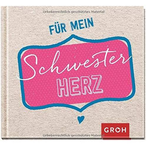 Joachim Groh - Für mein Schwesterherz - Preis vom 09.05.2021 04:52:39 h