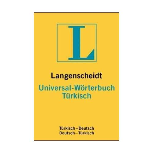 - Türkisch. Universal- Wörterbuch. Langenscheidt. Türkisch - Deutsch / Deutsch - Türkisch - Preis vom 28.05.2020 05:05:42 h