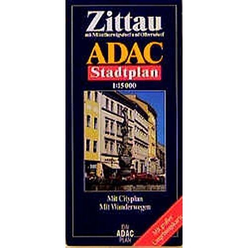 - ADAC Stadtpläne, Zittau - Preis vom 21.10.2020 04:49:09 h