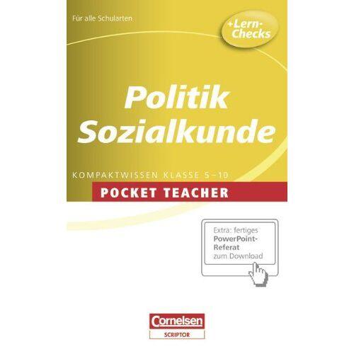 Andreas Dilger - Pocket Teacher - Sekundarstufe I: Politik und Sozialkunde - Preis vom 21.10.2020 04:49:09 h