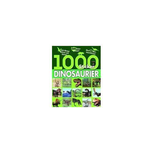 Parragon - 1000 Sticker Dinosaurier - Preis vom 17.04.2021 04:51:59 h