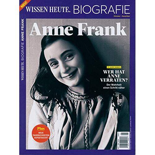 Wissen Heute Biografie - Wissen Heute Biografie 01/2019 Anne Frank - Preis vom 06.04.2020 04:59:29 h