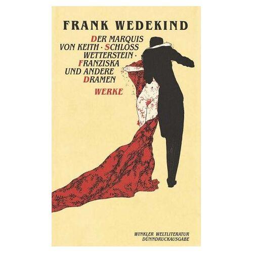 Frank Wedekind - Werke, 2 Bde. - Preis vom 20.10.2020 04:55:35 h