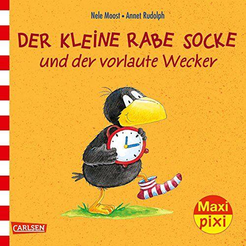 Nele Moost - Maxi Pixi 231: Der kleine Rabe Socke und der vorlaute Wecker - Preis vom 16.05.2021 04:43:40 h