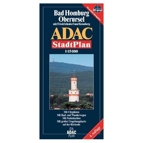 - ADAC Stadtpläne, Bad Homburg, Oberursel mit Friedrichsdorf und Kronberg - Preis vom 20.10.2020 04:55:35 h