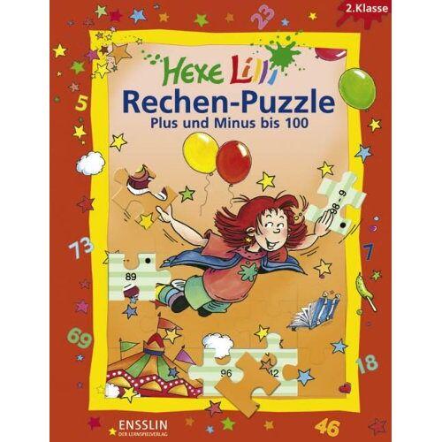 Roland Hexe Lilli Rechen-Puzzle - Plus und Minus bis 100: 2. Klasse. 4 Lernspiel-Puzzles - Preis vom 08.05.2021 04:52:27 h