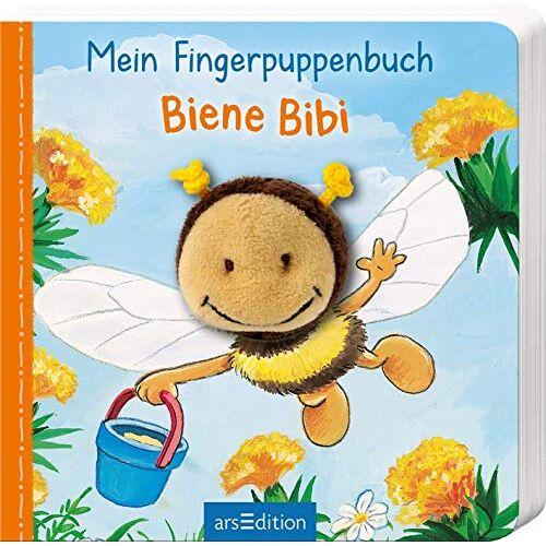 Andrea Gerlich - Mein Fingerpuppenbuch - Biene Bibi (Fingerpuppenbücher) - Preis vom 25.02.2021 06:08:03 h