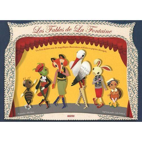 La Fontaine - FABLES DE LA FONTAINE (papiers découpés en relief) - Preis vom 16.01.2021 06:04:45 h