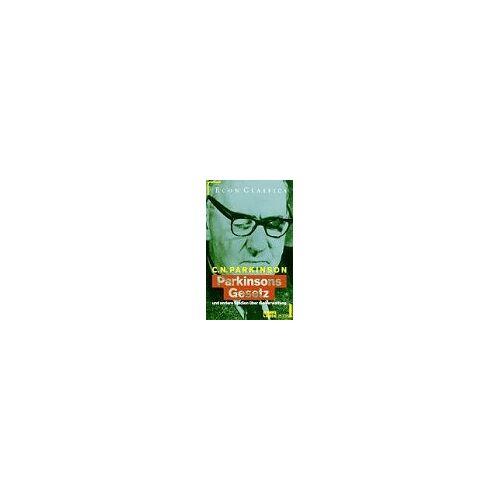 Parkinson, Cyril Northcote - Parkinsons Gesetz und andere Studien über die Verwaltung - Preis vom 05.09.2020 04:49:05 h
