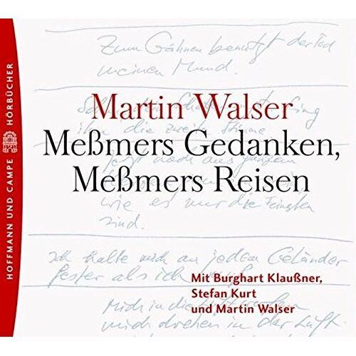 Martin Walser - Meßmers Gedanken, Meßmers Reisen, 2 Audio-CDs - Preis vom 20.10.2020 04:55:35 h