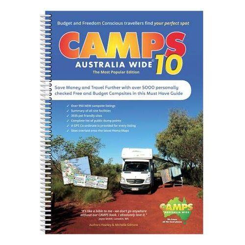 Wide, Camps Australia - Camps Australia Wide 10 A4: Campingführer Australien - Preis vom 26.02.2020 06:02:12 h