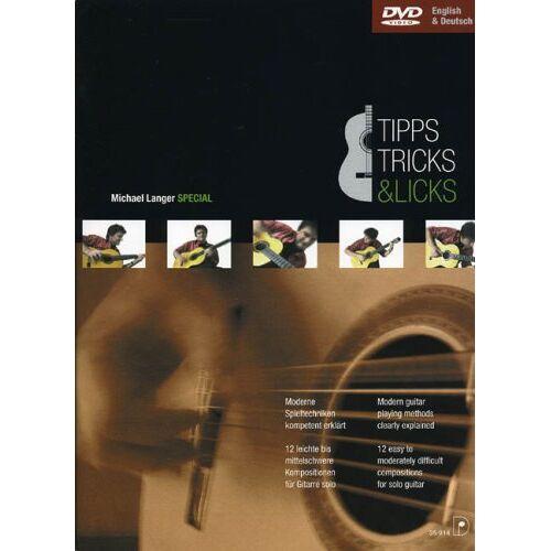 Michael Langer - Tipps Tricks & Licks. Gitarre, Tabulatur - Preis vom 12.10.2019 05:03:21 h