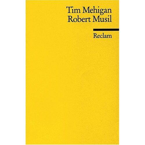 Tim Mehigan - Robert Musil - Preis vom 24.05.2020 05:02:09 h
