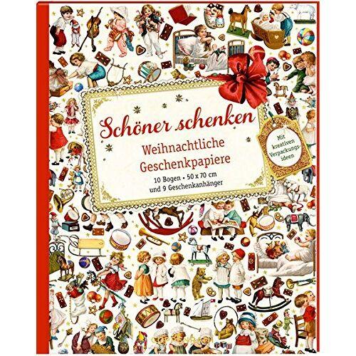 - Geschenkpapier-Buch - Schöner schenken: Weihnachtliche Geschenkpapiere - Preis vom 26.02.2020 06:02:12 h